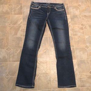 Silver Berkeley flap Jeans tall